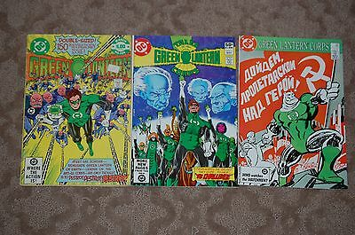 3 Issues The Green Lantern 150 Corps #208 Signed Tales Green Lantern Corps 1 Dc