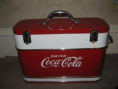 Coca-Cola vintage airline cooler from 1950s w/ Bottle Opener Good Condition