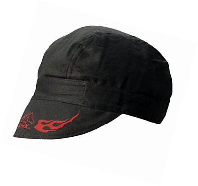 Revco REVCO - BC5W-BK Armor Cotton Welding Cap, 100% Cotton Double Layer Protect
