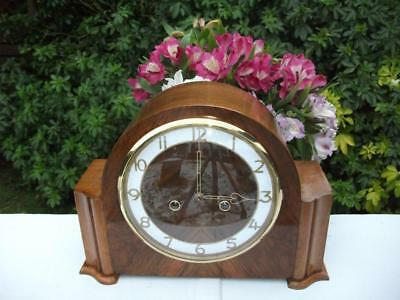 Stunning And Rare Smiths 8 Day Striking Mantel Clock. 1951. Fully Overhauled.