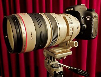 Canon ef 100-400mm f4.5-5.6 L IS USM Lens in excellent condition