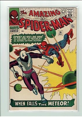 The Amazing Spider-Man Vol 1 #36 May 1966 Steve Ditko