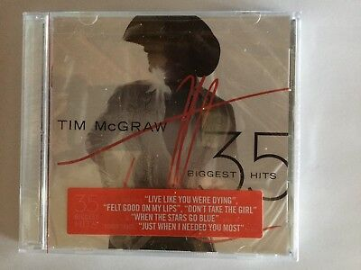 Tim McGraw Biggest Hits CD 35 Track Best Of Compilation Greatest Hit Country NEW
