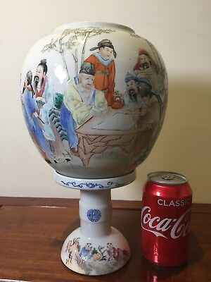 Antique Chinese Table Lamp