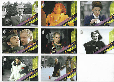 Doctor Who Timeless 8 Time Travelers Chase Card Lot TOPPS 2016