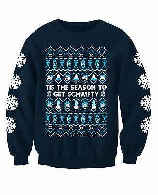 Rick and Morty Inspired Adults Novelty TV Christmas Sweatshirt Jumper