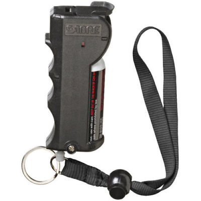 Sabre Red Stop Strap Flip Top 10% OC 2 Million SHU Pepper Spray 15 grams Black