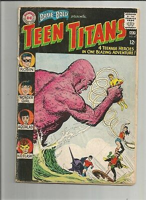 Lot Of (9) Teen Titans 1965-69 12 Cents Comics (#60,5,6,15,16,18,19,20,21)