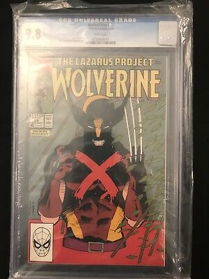 Wolverine # 29 (1988 Series) White Pages CGC 9.8
