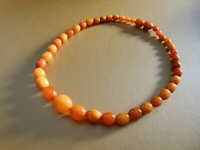 Antique Vintage Amber Beads