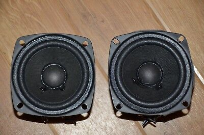 A pair of 80mm long throw bass/mid unit woofers (price is for 2 woofers)