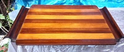 Striking ART DECO wooden cocktail tray with bold design