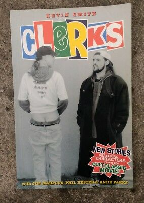 Clerks Comic graphic novel by Kevin Smith , blunt man .