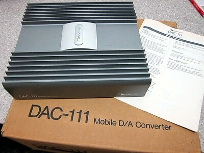 Nakamichi Mobile Sound (Japan) DAC-111 D/A Converter