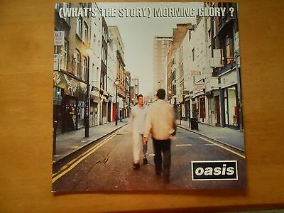"Oasis Morning Glory 12"" two sided promo poster"