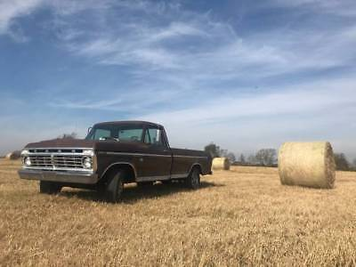 1973 Ford F-100 XLT 1973 Ford F100 Long Bed Automatic  V8