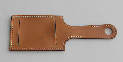 Luggage tag HERMES leather / Porte étiquettes Bagage Hermès cuir