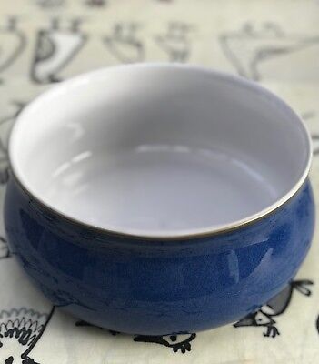 Denby Imperial Blue Round Dish