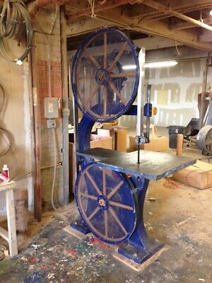 "Nicely refurbished 5HP wood cutting Crescent 36""Bandsaw"