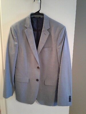 Banana Republic Blue Gray Suit 38S and Pants 31x30 Tailored Fit