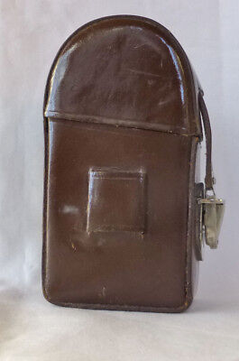 Leitz Leica Brown Leather Carrying Case for  MR or MC meters