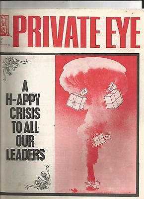 Private Eye Mag # 27 21 December 1962 Cuban Missile Crisis CND H-Bomb JFK cover