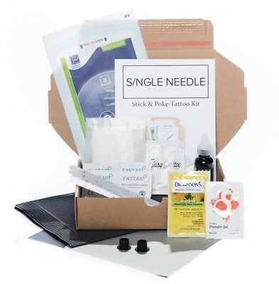 Single Needle - Hand Poke SINGLE Tattoo Kit