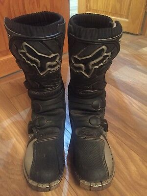 Fox Racing Pro Junior Boys  Motocross Boots Size 5