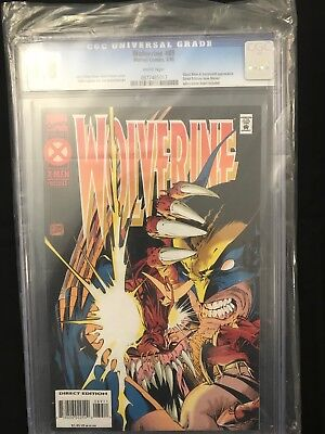 Wolverine #89 (1988 Series) White Pages CGC 9.8