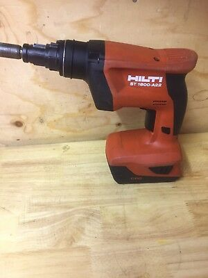 Hilti ST1800-A22 Cordless Screwdriver  Comes With 3.3AH Battery