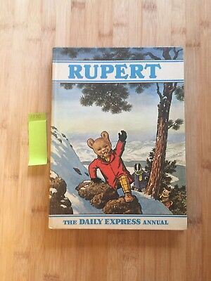 Rupert the Bear Annual 1970 Price Not Clipped