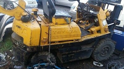 Toyota Forklift  Spare Or Repair 1500 Tonne