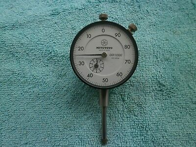 MITUTOYO  DIAL INDICATOR  MODEL No.2904  0- 1  INCH .001