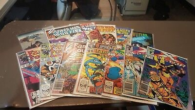 Lot of Comics (X-Factor, Fantastic Four, Power Man & Iron Fist and others) (13 c