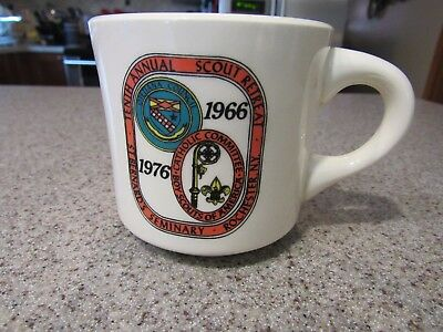 BOYS SCOUTS! - 1966 - 1976, Rochester, NY, Scout Retreat, Coffee Mug, Clean