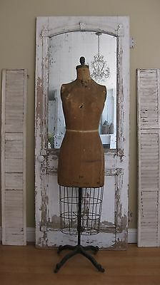 Vintage dress form mannequin JR Palmenberg's Son, Model 1944, rolling cage skirt