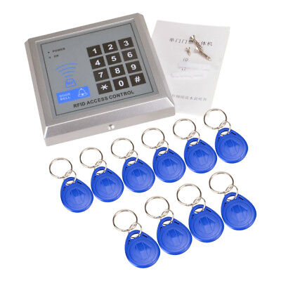 Rfid Proximity Door Entry Access Control System With 10pcs Key Fobs