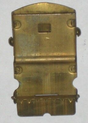 Vtg Military / Boyscout Belt Buckle Web Stamped Solid Brass Made In USA