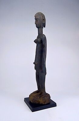 Tall slender old Bamana Jonyeleni ~ Pretty Little One sculpture~ African Art