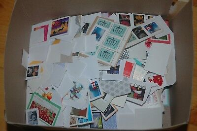 Weeda Canada Lot of uncancelled postage on paper, $479.22 total face value, 'P's