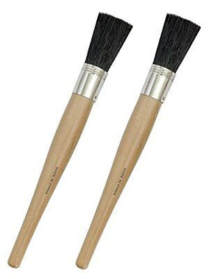 """Auto Detailing - Auto Detail (2) Brushes for Wheels 11"""" Long with 2"""" Soft Bri..."""