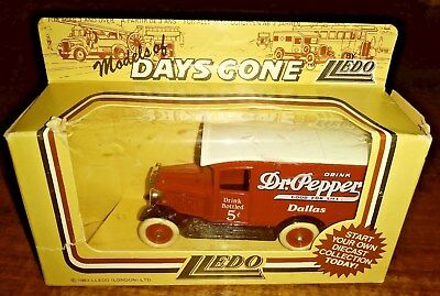 Mint Dr Pepper Delivery Truck In Original Package