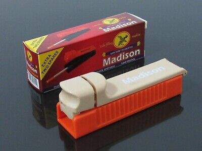 MADISON Filling/Tubing Machine for Empty Cigarette Filter Tubes