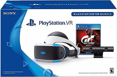New Sony PlayStation PS4 VR Gran Turismo GT Sport Bundle Headset *GIFT RECEIPT*