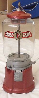 Vintage Northwestern Restored Mod 33 Glass Globe Gumball Machine