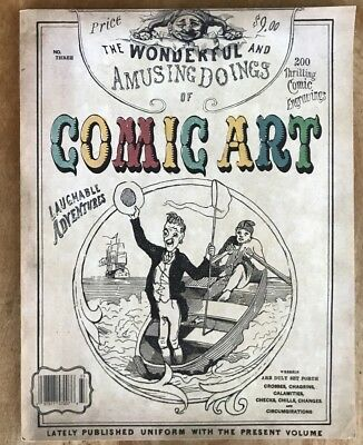 Comic Art Magazine #3 2003 Chris Ware Herge Pettingill Topffer O'connell Vf+