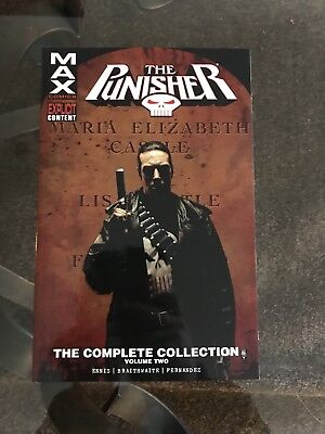 Punisher Complete Collection Vol. 2 NEW Max Comics Graphic Novel TPB Two Book