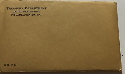 1963 U.s. Proof Set In Original Sealed Envelope