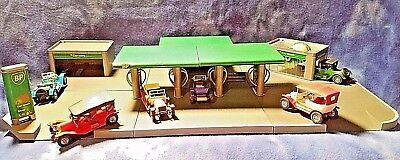 NEW Vintage Build Your Own Toy BP Model Service Station Kit Sealed Easy Toy Set