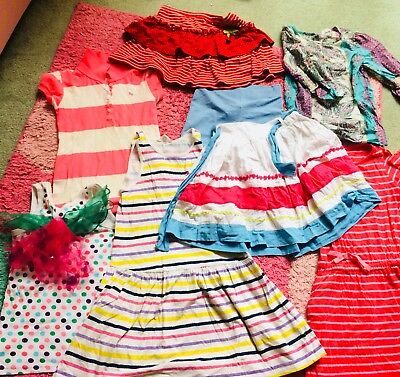 Girls Bulk Mixed Summer Clothes Size 6-8 H&M, Jack And Milky,Cotton On Kids ....